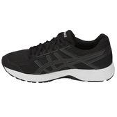 Asics 亞瑟士 男慢跑鞋  GEL-CONTEND 4(4E) (黑白) 黑白鞋  學生鞋  T715N-001 【胖媛的店】
