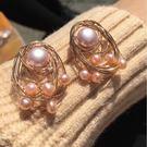 Beatrice Bijoux 娃娃珍珠耳環