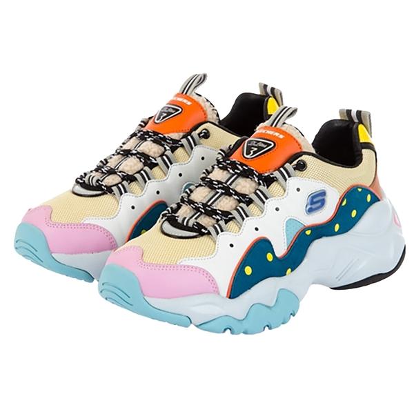 SKECHERS D'LITES 3.0 - BT21 女 明星款 限定款 運動 休閒 老爹鞋 13386MULT
