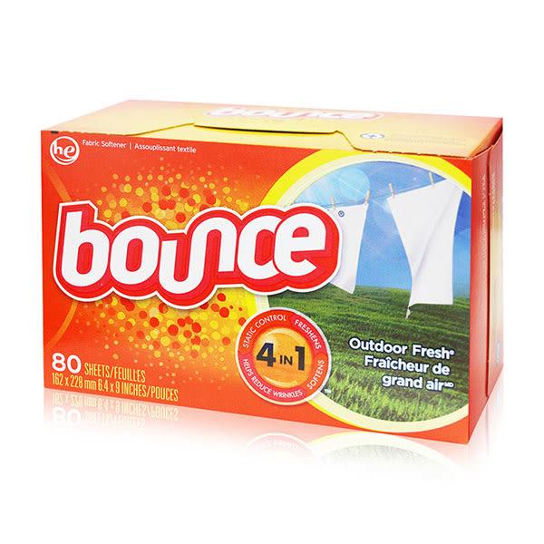 美國原裝進口Bounce 烘衣柔軟片 80片