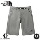 【The North Face 男 快乾健行短褲《礦物灰》】46KZ/DWR/吸濕排汗戶外徒步褲/休閒短褲