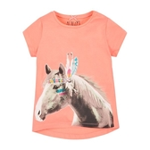 mothercare 印地安白馬短袖T恤-夏日圖盧姆(M0H9632)3~8歲