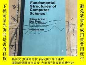 二手書博民逛書店Fundamental罕見Structures of Compu