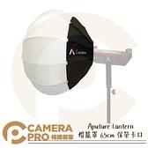 ◎相機專家◎ Aputure Lantern 燈籠罩 柔光罩 65cm 保榮卡口 Bowens 快收式 球形 公司貨