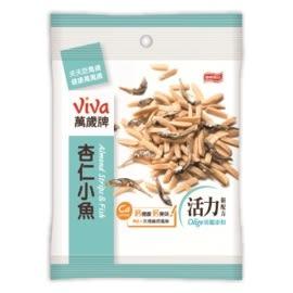 ●萬歲牌杏仁小魚-原味(80g/包)【合迷雅好物超級商城】