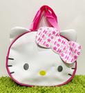 【震撼精品百貨】凱蒂貓_Hello Kitty~日本SANRIO三麗鷗 KITTY 造型防水袋/手提袋-大頭緞帶#75488
