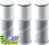 [8東京直購] 日本原裝 Cleansui 三菱麗陽 可菱水 檯面型水龍頭專用濾心 NC0001T (一盒3顆) 相容:N301/N303