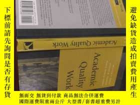 二手書博民逛書店Academic罕見Quality WorkY154527