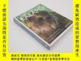 二手書博民逛書店鸮鸚鵡罕見Kakapo: Rescued from the Brink of Extinction 新西蘭珍稀動物