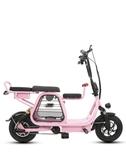 電動自行車男女迷你款折疊兩輪鋰電代步滑板車成人電瓶踏板車