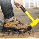 勞保鞋男輕便防臭透氣工地鞋夏季防砸防刺穿鋼包頭工作安全鞋耐磨 極簡雜貨