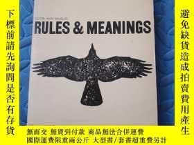 二手書博民逛書店RULES罕見& MEANINGSY210872 出版1973