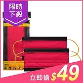BNNxMASK 成人不織布拋棄式平面口罩(5入)新年紅【小三美日】原價$59