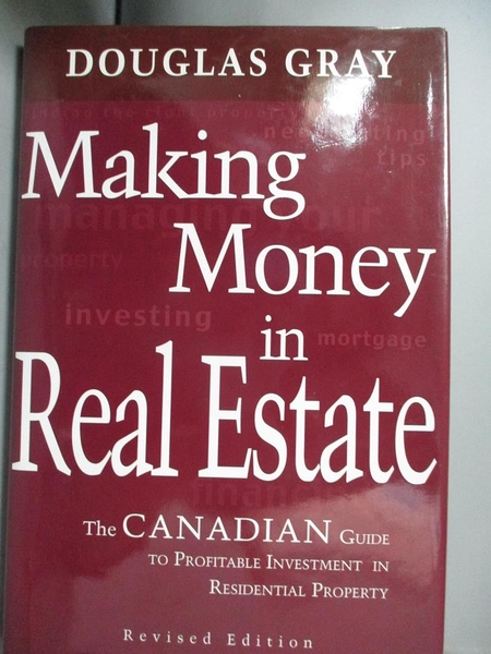 【書寶二手書T4/投資_J31】Making Money in Real Estate_Douglas A. Gray