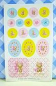 【震撼精品百貨】Hello Kitty 凱蒂貓~KITTY貼紙-香水貼紙-夏季滑板