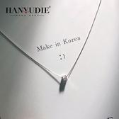 項鍊:女士韓國s925純銀項鍊  【新飾界】