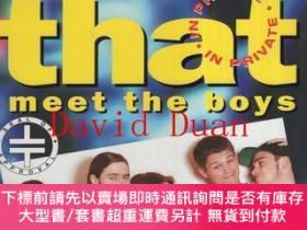 二手書博民逛書店(英語)take罕見that -in prvate- meet the boysY383675 NICE M