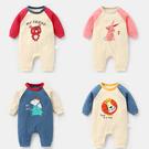 嬰兒寶寶卡通韓版爬服包屁衣