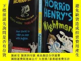 二手書博民逛書店horrid罕見henry s nightmare 亨利的噩夢Y200392