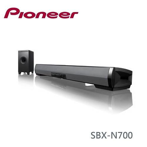 【限時下殺+24期0利率】Pioneer 先鋒 SBX-N700 無線網路前置揚聲系統喇叭 SOUNDBAR