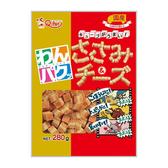 Q-pet 巧沛日本犬用零食 口福系列 雞肉起士肉角280g