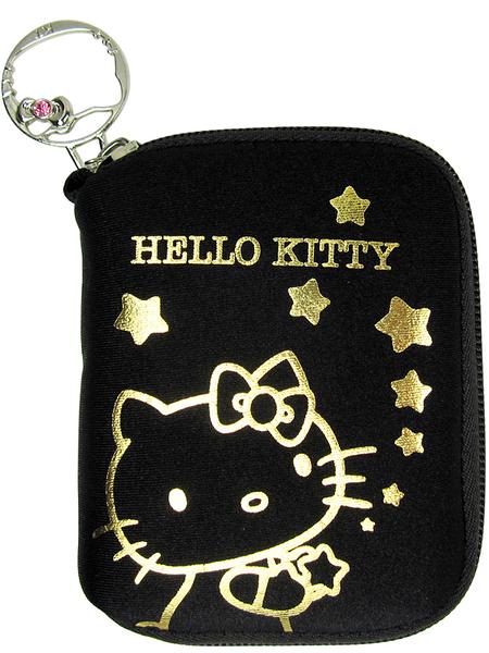 【卡漫城】Hello Kitty 彈力膠數碼防護袋 ㊣版 拉鍊式 相機包 MP3袋 相機袋 手機包 手機袋