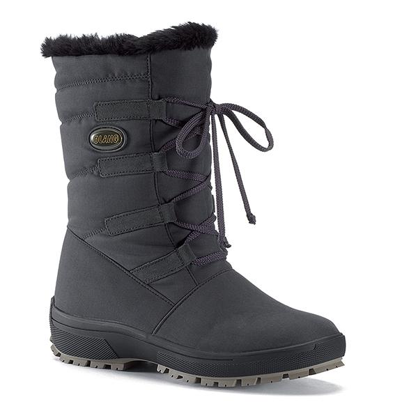 Olang【義大利】 Nora tex 女防水雪鞋/保暖雪靴/賞雪/極光 OL-1402W 黑
