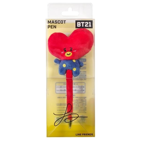 耀您館|日本限定ENSKY萬年筆鋼筆BT21正版吉祥物筆TATA防彈少年團BTS金泰亨V周邊商品#459352韓