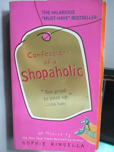 【書寶二手書T5/原文小說_OUA】Confessions of a Shopaholic