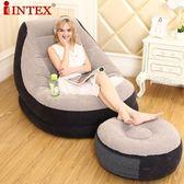 懶人沙發折疊床懶人椅單人沙發床豆袋充氣