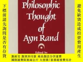 二手書博民逛書店The罕見Philosophic Thought Of Ayn
