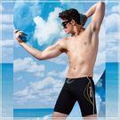 ☆小薇的店☆沙麗品牌【個性曲線條側邊 】大男七分泳褲特價390元NO.4307A(2L-4L)加大碼