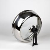 可視不銹鋼玻璃鍋蓋可立加高炒鍋蓋蒸鍋蓋凹口平口通用鍋蓋LX 韓國時尚週