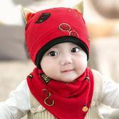 聖誕節交換禮物-嬰兒帽子0-3-6-12個月男女寶寶帽子春秋兒童秋冬季新生兒胎帽1歲韓版