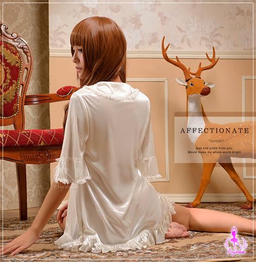 情話綿綿!優雅柔緞外罩衫 (OS shop)