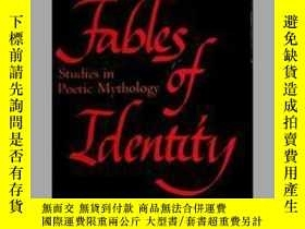 二手書博民逛書店Fables罕見of Identity: Studies In