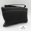 零錢包進口牛皮鉚釘造型小巧零錢包-黑A99-014BK (Misstery)