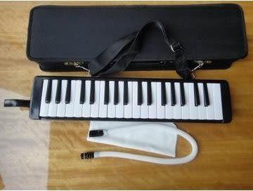 黑色經典口風琴37鍵 【藍星居家】