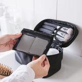 化妝包多功能手提化妝包隨身大容量收納袋旅行便攜化妝品收納包【夏日清涼好康購】