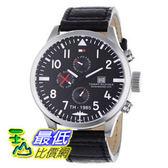 [103 美國直購] 男士手錶 Tommy Hilfiger Men s 1790683 Sport Stainless Steel Watch with Black Leather Band  $5765