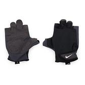 NIKE 男訓練手套(重量訓練 健身 半指手套 免運 ≡排汗專家≡