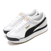 Puma 休閒慢跑鞋 Roma Amor Heritage Wns 白 黑 女鞋 運動鞋 【ACS】 37094701
