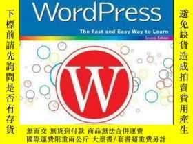 二手書博民逛書店Teach罕見Yourself VISUALLY WordPress, 2nd EditionY410016