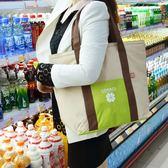 日本手提保溫袋便當包帶午餐購物保熱冷時尚加厚環保袋大號野餐包