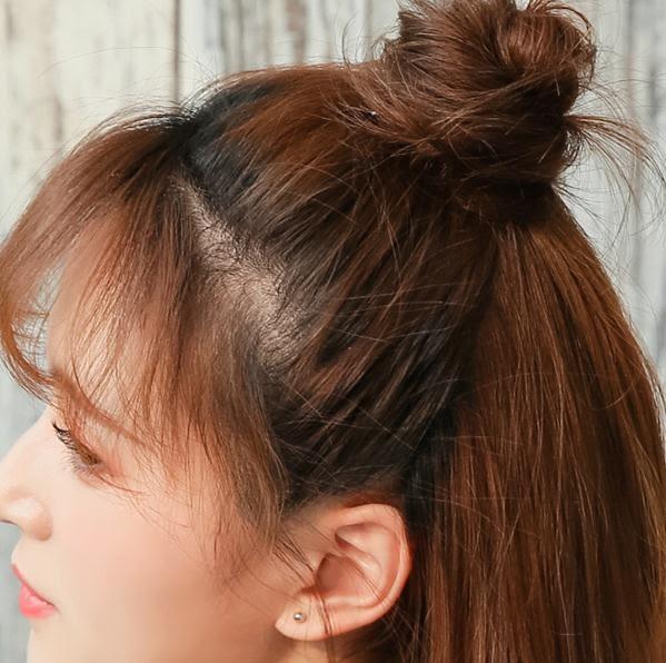 假髮半丸子頭 包 女小丸子頭小號髮包髮飾蓬松盤髮器抓夾髮圈PH1705【3C環球位數館】