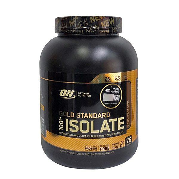 Optimum Nutrition 100% ISOLATE 金牌水解分離乳清蛋白5磅(公司貨有防偽)