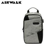 【橘子包包館】AIRWALK 斜槓生活休閒單肩包/單肩後背包 A855300312 灰色