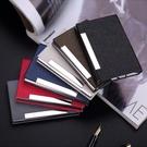 名片包時尚名片盒辦公商務名片夾男式大容量創意定制刻字金屬男士名片夾黛尼時尚精品