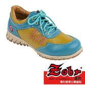 ZOBR路豹     女真皮專利氣墊鞋-綁帶鞋 T718系列