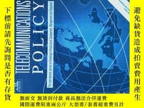 二手書博民逛書店Telecommunications罕見Policy (Journal) 02-03 2010 電信政策學術期刊奇